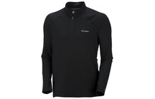 Columbia Men's Baselayer Midweight LS 1/2 Zip black